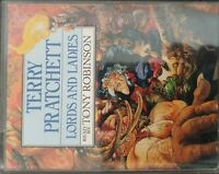 Terry Pratchett Lords And Ladies Casette Tony Robinson