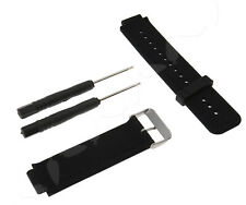 Silicone For Garmin vivoactive Smartwatch Watches Band Replacement 24mm Black