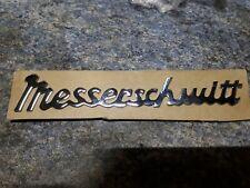 Messerschmitt Kr200 Kr201 Kr175 Tg500 Script Badge 1281