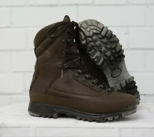 WOMENS KARRIMOR SF BROWN LEATHER COLD WET WEATHER BOOTS - 6 Medium British Army