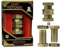 Hanayama J01228 Cast Nutcase Level 6 Puzzle