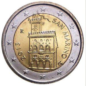 SAINT MARIN 2 Euro Palais du Gouvernement 2013 UNC