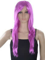 Halloween Costume Long Straight Hair Wig Women's Girl Full Wig Cosplay Party Wig