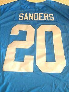 Nike NFL Stitched Jersey BARRY SANDERS 907150 490 Men's Sz 3XL Detroit Lions HOF