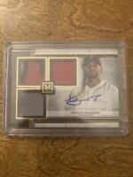 2020 Topps Museum Collection Xander Bogaerts Patch Auto /5 Boston Red Sox