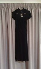 LADIES DRESS SIZE 8 ROCKMANS NEVER WORN COLOUR BLACK