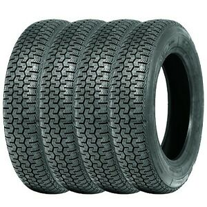 145SR15 Michelin XZX set of four (4) Classic tyres