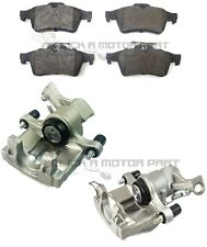 SAAB 9-3 93 2002-2012 REAR LEFT & RIGHT BRAKE CALIPER & PADS (VENTED DISCS ONLY)