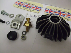 """z Triumph c/w """"REAL"""" LUCAS ZENER DIODE!! Mounting 97-2237 fitting kit  €FD JLY21"""