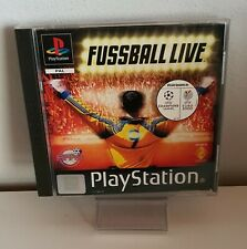 Fußball live PS1 Fun Game Playstation 1 OVP+Anleitung A6367