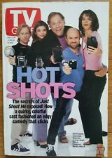 """TV Guide 5/29/99 """"Just Shoot Me"""" Cast, Alex Kingston, Mary Chapin Carpenter"""
