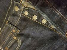PURE BLUE JAPAN 2006 BLUE  SELVEDGE DENIM JEANS SIZE 31 X 31