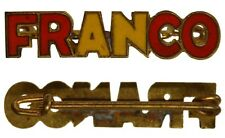 "SPILLA BADGE GUERRA CIVILE SPAGNOLA "" FRANCO "" #MDS69"