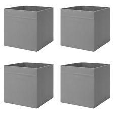IKEA DRÖNA 4-Set Fach Box Kallax Regal Aufbewahrungsbox 33x38x33cm Dunkelgrau