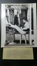1978 ORIGINAL RON GUIDRY 8X10 UPI PHOTO W/LABEL AND STAMP 1 OF KIND N.Y.YANKEES