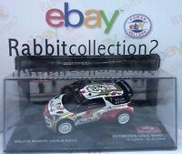 "DIE CAST "" CITROEN DS3 WRC RALLYE MONTECARLO 2013 "" SCALA 1/43"
