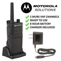 Motorola RMM2050 License Exempt VHF MURS Farm Ranch Rodeo Two Way Radio