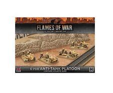 Flames of War 6 PDR ANTI-TANK PLATOON in plastica 15mm BBX38