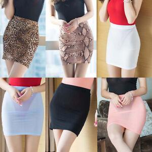 Sexy Women See Through Mesh Micro Club Short Mini Skirt Lingerie Sheer Nightwear