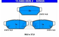 ATE Juego de pastillas freno para MITSUBISHI LANCER COLT CARISMA 13.0460-5826.2
