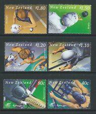 ZELANDA 2000 OLYMPICS,SPORT SET DA 6 SENZA CORNICE MINT (COME NUOVO),