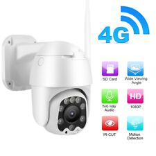 Telecamera IP Camera 4G LTE 5X Zoom 2 Mpx HD 1080P IR Motorizzata IP66 Dome Kit