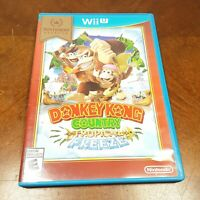 Donkey Kong Country: Tropical Freeze (Nintendo Wii U 2014) CIB Free Shipping