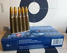 Deko Patronen 5 Stück Kaliber 8x57 Mauser org. Ladestreifen Munition Geschoss