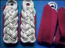 1 paia spalla sportelli NVA Major rosso scuro con lo sfondo Mfs, Stasi spalla pezzi