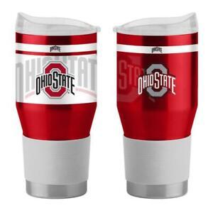 Ohio State Buckeyes 24oz Twist Ultra Travel Tumbler [NEW] NCAA Cup Mug Coffee