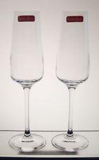 "CAPRI SPIEGELAU Champagne Flutes 9 3/4"" PAIR"