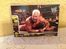 WWE BILLY GUNN ROYAL RUMBLE 2002 FLEER COLLECTOR TRADING CARD #32 & HOLDER