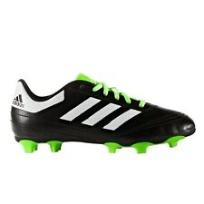 huge discount 5fe08 26c80 adidas Kids Goletto VI J Firm Ground Soccer Cleats Black Green Youth Size 5  US