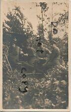 WW1 soldier group Royal Field Artillery 18 Pounder & gun Crew France ? Belgium ?