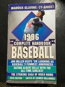 1996 Complete Handbook of Baseball (26th edition) Zander Hollander