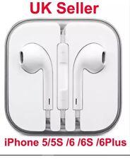 Headphone iPhone 6/5/5S/5C Apple Earphones EarPod Handsfree With Mic White 3.5mm