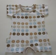 SOOKI Baby Beautiful Baby Romper Size 00 Brown Dots Boys