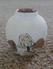 1970s Jersey Pottery handmade ornament mushroom