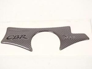 Protection te de fourche Mad coloris carbone pour moto Honda 600 CBR F 2001-2003