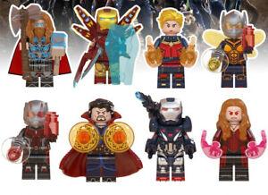 Avengers Endgame Doctor Strange Thor Iron Man Marvel War Machine Building Blocks