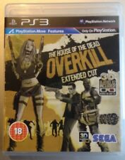 ps3 house of the dead overkill extended cut + 3d glasses