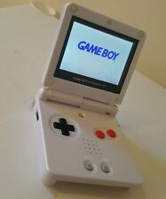 GBA SP AGS 101 DMG CUSTOM MINT GAMEBOY ADVANCE NINTENDO BRIGHTER SCREEN BUNDLE