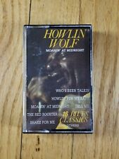 HOWLIN' WOLF - Moanin at Midnight Cassette Holland Import NM