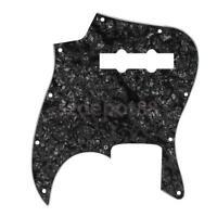 Standard Black Pearl Pickguard 3 ply 10 holes for Fender Jazz J Bass Guitar