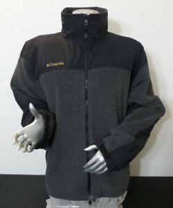Columbia Titanium Interchnge Soft Shell Zip Jacket Mens X-Large (XL)