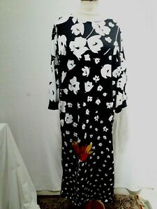 ROBE D'HOTESSE T.40 VINTAGE 80 HOSTESS DRESS size M