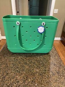NWT Bogg Bag GREEN With Envy Bogg Original Tote - Large