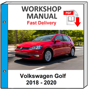 VW VOLKSWAGEN GOLF SPORTSVAN 2015 - 2019 SERVICE REPAIR MANUAL WORKSHOP