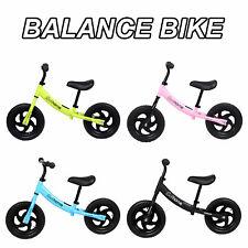 Kids Balance Bike Toddler Walker Training Bicycle Adjustable Seat No Pedal Gifts
