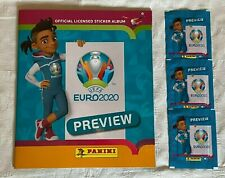 "Panini - UEFA Euro 2020 ""Preview"": Official Sticker Album + 21 Stickers"